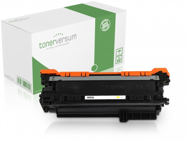 Alternativ zu HP CE252A / 504A Toner Yellow