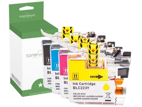 Alternativ zu Brother LC-223 XL Tinte Multipack CMYK (4er Set)