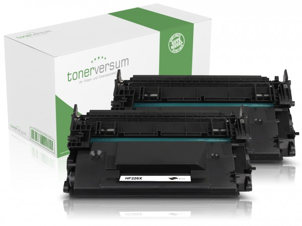 Alternativ zu HP CF226X / 26X Toner Black (2er Pack)