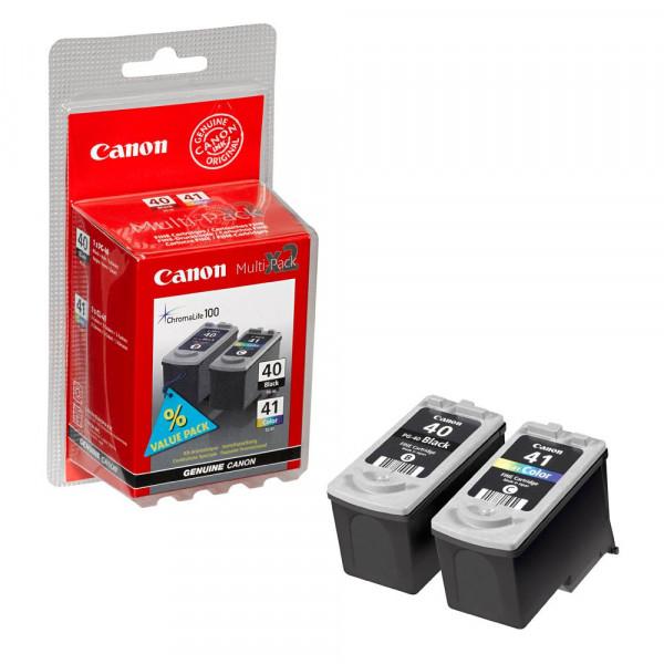 Canon PG-40 CL-41 / 0615B036 Tinten Multipack (1x Black / 1x Color)
