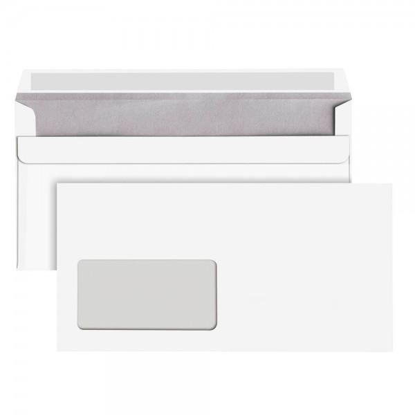 dots Briefumschläge DIN lang selbstklebend mit Fenster 250 Stück