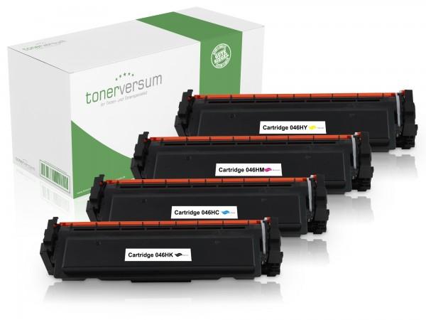 Alternativ zu Canon 046H Toner Multipack CMYK (4er Set)