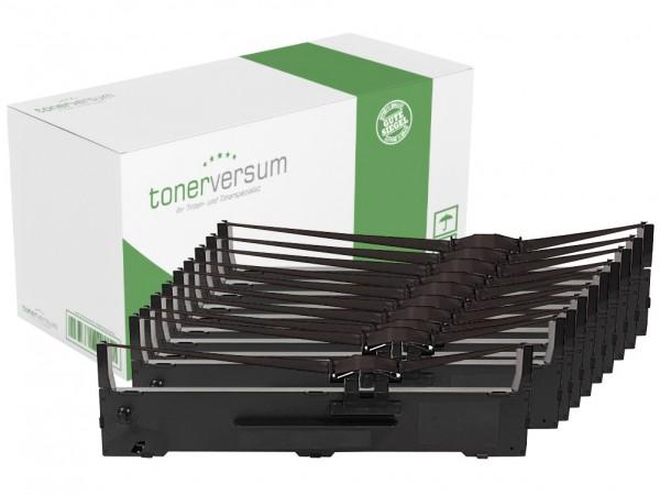 Alternativ zu Epson C13S015337 / LQ-590 / FX-890 Nylonband Black (10er Pack)
