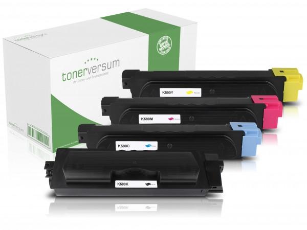 Alternativ zu Kyocera TK-590 Toner Multipack CMYK (4er Set)