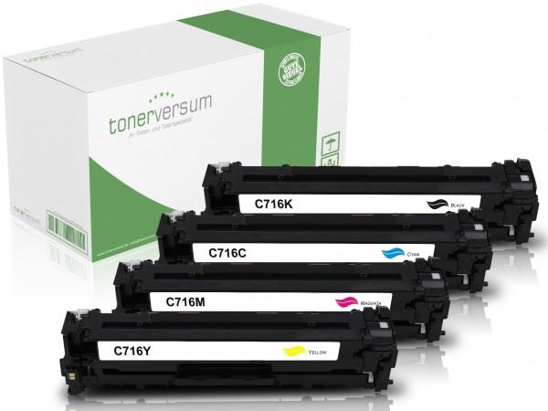 Alternativ zu Canon 716 Toner Multipack CMYK (4er Set)