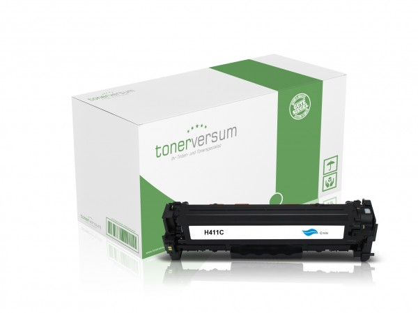 Alternativ zu HP CF411A / 410A Toner Cyan