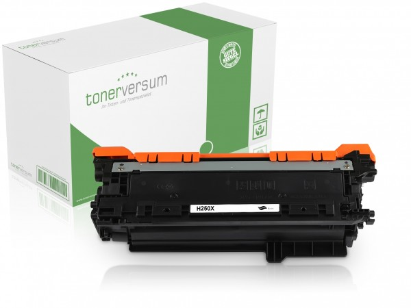 Alternativ zu HP CE250X / 504X Toner Black