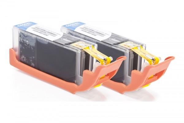 Alternativ zu Canon PGI-550PGBK XL / 6431B001 Tinte Pigment-Black (2er Pack)