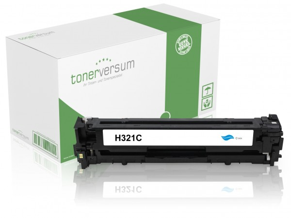 Alternativ zu HP CE321A / 128A Toner Cyan
